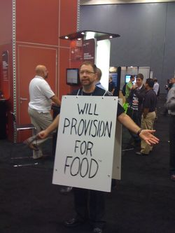 Steve the Server Guy at VMworld